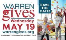Warren Gives – May 19th